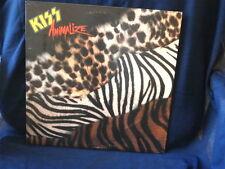 KISS~ANIMALIZE~ NEAR MINT~ MERCURY~ ORIG. INNTER SLEEVE  ~ POP  LP