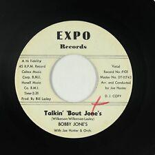 Northern Soul 45 - Bobby Jones - Talkin' 'Bout Jone's - Expo - mp3
