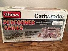 Edelbrock 1411 Performer Series Carburetor 750 CFM with Electric Choke