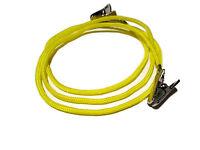 Yellow Paracord Clip Eyeglass Holder, Clip Eyeglass Chain, Glasses Cord  355
