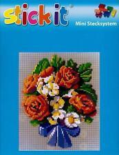 Ministeck Kreativset für Kinder mit Blumen- & Frucht-Motiv