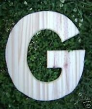 Letter G plastic mold plaster cement resin casting mould