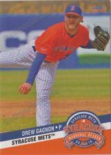 2019 Syracuse Mets Drew Gagnon RC Rookie New York