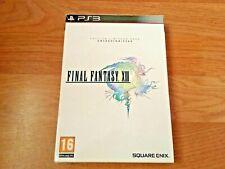 FINAL FANTASY XIII 13 Edición Limitada para Coleccionistas Sony PlayStation 3