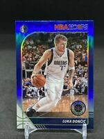 2019-20 NBA Hoops Premium Stock Luka Doncic Blue Prizm SP 🔥