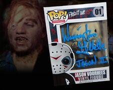 Warrington Gillette Autographed Custom Jason Voorhees Friday The 13th Funko Pop