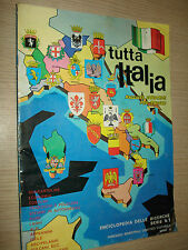 ALBUM TUTTA ITALIA 424/442 ENCICLOPEDIA DELLE RICERCHE N°1 ANNO V FOL - BO
