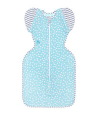 Love to Dream Swaddle Up Summer Lite 0.2 Tog 50 / 50 Aqua  Large Free Shipping