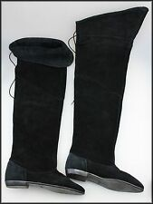 Block Heel Suede Medium Width (B, M) Pull On Boots for Women