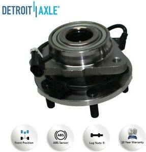 Detroit Axle 513200 Front Wheel Hub Bearing Assembly for GMC Jimmy and Chevrolet