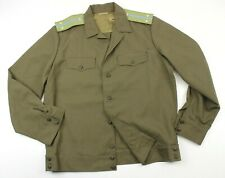 "RUSSIAN ARMY / AIR FORCE OFFICERS JACKET with OFFICER EPAULETTES 42"" (NO3)"