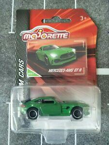 MAJORETTE MERCEDES AMG GT R GREEN 1/64 DIECAST NEW