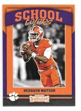 Deshaun Watson Rookie Card 2017 Contenders Draft Picks Clemson Tigers Texans RC