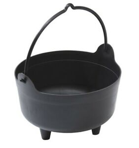 Garland Cauldron Planter with Handle - Black - Large