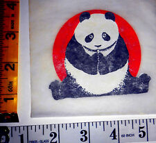 "VERY RARE Vintage Roach Mini ""PANDA"" Iron-on Transfer"
