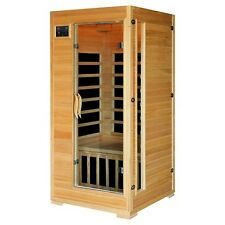 Sauna cubierto