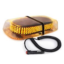 240 LED Light Amber Flashing Emergency Warning Strobe Light Bar Roof Top Yellow