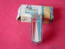 NOS 1966 GALAXIE RED WHITE BLUE FRONT FENDER EMBLEM C6AZ-16228-A