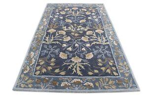 Old Handmade Farhan Rug Traditional Parsian Style Wool Area RUG & Carpet