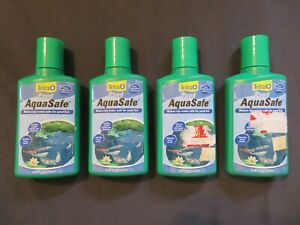 Tetra Pond AquaSafe Makes Tap Water Safe For Pond Fish 8.45 Oz Each @D
