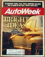 AUTOWEEK 1992 FEB 10 - ROLEX 24 at DAYTONA, EPA RATINGS