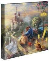 Thomas Kinkade Studios - Your Choice Tangled or Beauty and the Beast 14x14 Wrap