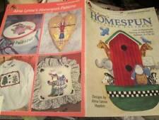 Alma Lynne's Homespun Traceable Patterns Painting Book-Animals/Angels/Garden/San
