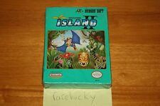 Adventure Island II (Nintendo NES) NEW SEALED H-SEAM, RARE!