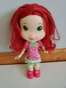 "Strawberry Shortcake Doll 10"" Hasbro 2008"