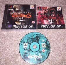 Nightmare Creatures ii/2 verpackt und komplett Sony Playstation 1 ps1 Spiel UK