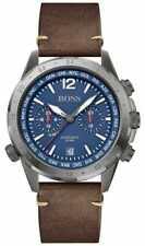 BOSS nomade Voor Mannen | Bruine Leren Band | 1513773 Horloge -20%!