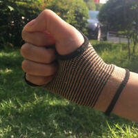 Stretchy Sports Fitness Hand Palm Wrist Guard Support Band Thumb Brace Glove