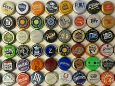 48 different BEER BOTTLE CAPS -  for your bar top or table project - LOT N3