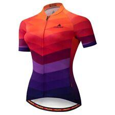 Women's Cycling Jersey Clothing Bicycle Sportswear Short Sleeve Bike Shirt J83