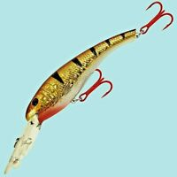 Matzuo 1/4oz Tournament Crank TIGER PERCH Fishing Lure for Walleye/Bass/Pike