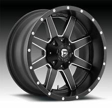 4 New 20x10 -24 Fuel D538 Maverick Black Milled 6x135 6x5.5 Wheels Rims