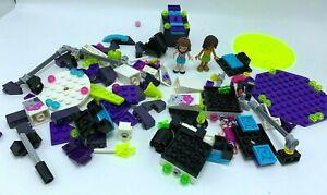 Assortment of Lego friends Amusement Park Space Ride 41128 incomplete set legos