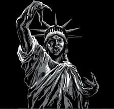 Statue of Liberty Weeping Angel from Doctor Who Satire RIPT Mens XL Shirt NEW