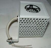6 x white cube light fitting for 12v MR16 50mm reflector bulbs