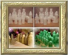 LEWIS   roh Schachfiguren  GROß  Schach  Ritter  Schachspiel