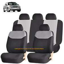 GRAY ELEGANT AIRBAG COMPATIBLE SEAT COVER SET for FORD F150 ESCAPE