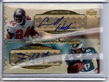 2007 UD Premier Pairings Dual Auto CADILLAC WILLIAMS TONY HUNT /25 Autograph