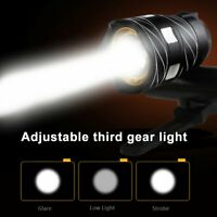 T6 LED MTB Rear&Front 15000LM Bicycle Lights Bike Headlight USB Rechargeable Y1