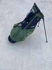 Sun Mountain 2.5 Golf Stand Bag Green EUC