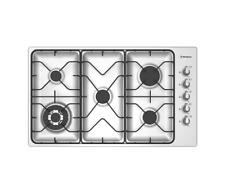 Westinghouse WHG951SB 90cm Stainless steel 5 Burner Gas cooktop