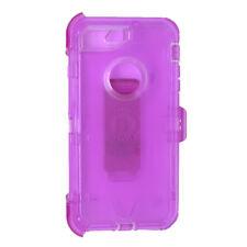 iPhone 6S Plus Transparent Clear Purple Defender Case (Clip Fit Otterbox )