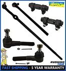 6Pc Kit Inner & Outer Tie Rod Sleeves for Ford Bronco F100 F150 F250 F350