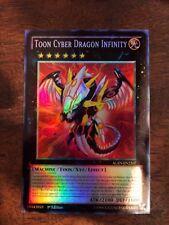Yu Gi Oh TOON CYBER DRAGON INFINITY CYBER DRAGO INFINITA CARTA FOIL ANIME