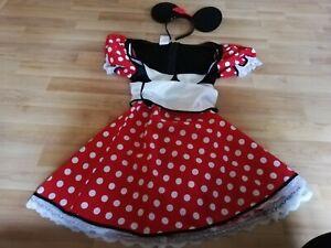 Kostüm Minnie Maus Damen Gr. S mit Ohren