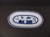Yokohama Collection blue & white relish or mint dish